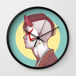 Demon Within Wall Clock