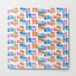 Potpourri Pattern Metal Print