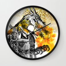 The dynamo and the virgin Wall Clock