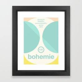 bohemie single hop Framed Art Print