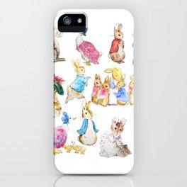 Tales of Peter Rabbit  characters Beatrix Potter iPhone Case