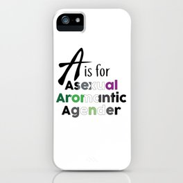 A is for iPhone Case