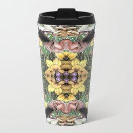 Wildlife Kaleidoscope Metal Travel Mug