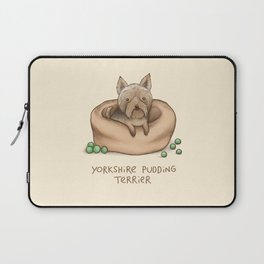 Yorkshire Pudding Terrier Laptop Sleeve