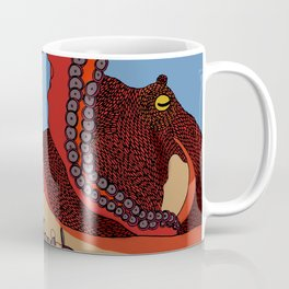 North Pacific Giant Octopus (Enteroctopus dofleini) Coffee Mug