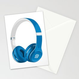 Vive la musique - Headphones, by SBDesigns Stationery Cards