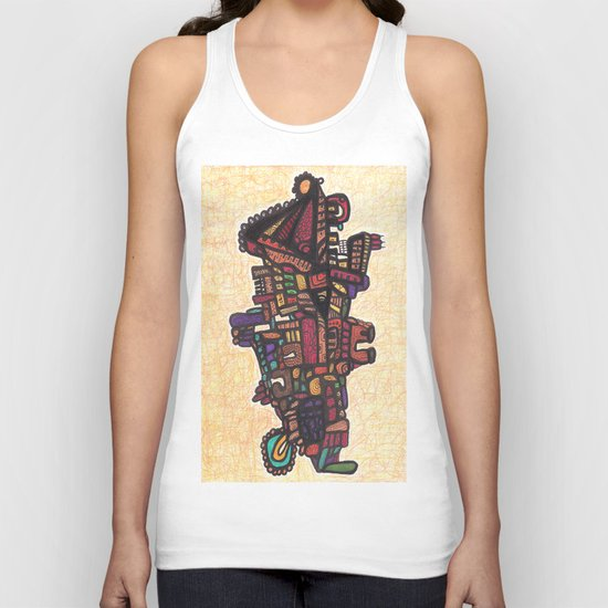 (Dance of) Life and Death Unisex Tank Top