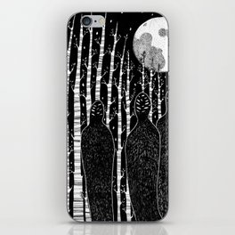 The People in the Forest iPhone Skin