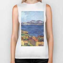 1885 - Paul Cezanne - The Bay of Marseilles, Seen from L'Estaque Biker Tank
