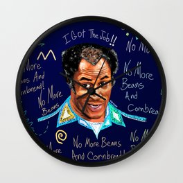 Good Times No More Beans and Cornbread Wall Clock