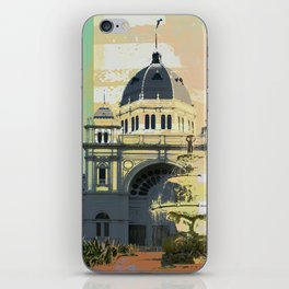 Exhibition Building iPhone Skin