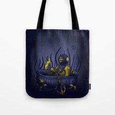Deep Sea Beathing Tote Bag