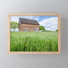 Abandoned Barn Framed Mini Art Print