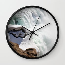 Down the side Wall Clock