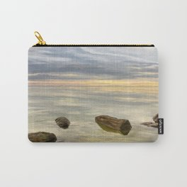 Sea sunset during calm weather Carry-All Pouch