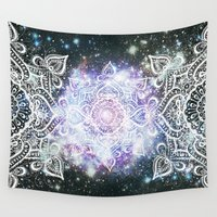 celestial Wall Tapestries featuring Celestial Mandala by Jenndalyn