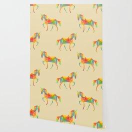 Fractal Geometric Unicorn Wallpaper