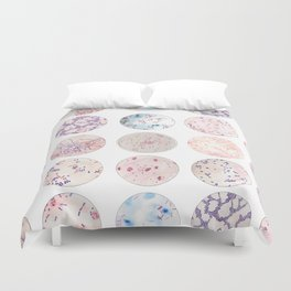 Microbe Collection Duvet Cover