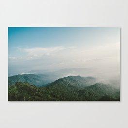 Suroloyo Sunrise Canvas Print