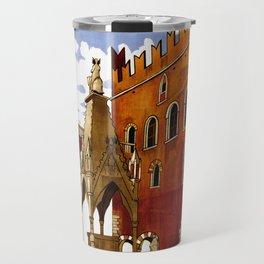 Vintage Verona Italy Travel Travel Mug