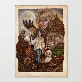 Labyrinth Tribute Canvas Print
