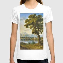 Landscape with Sicilian Temples by Jakob Philpp Hackert T-shirt