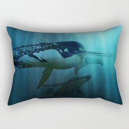 Polar migration Rectangular Pillow