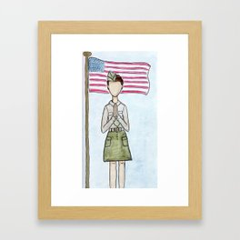 Patriot Day Framed Art Print