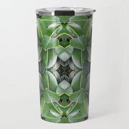 Rubber Tree Pattern Travel Mug