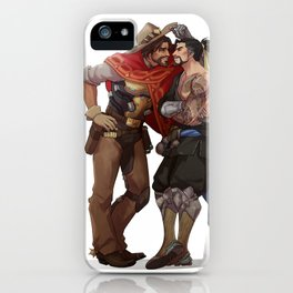 Mccree and Hanzo iPhone Case