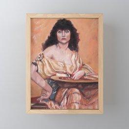 Nadja Framed Mini Art Print