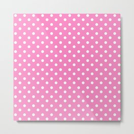 Taffy Polka Dots Metal Print