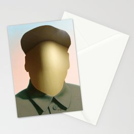 Mao as wound 1 Collage Stationery Cards