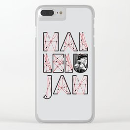 Leonard Cohen Hallelujah Clear iPhone Case