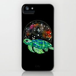 Watercolor Sea Turtle iPhone Case