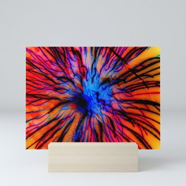 It Came Out Of The Blue Mini Art Print