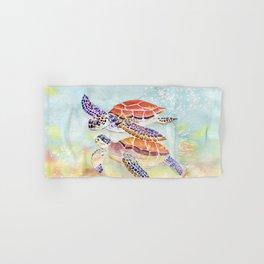 Swimming Together - Sea Turtle Hand & Bath Towel