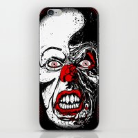 pennywise iPhone & iPod Skins featuring Pennywise by Beery Method