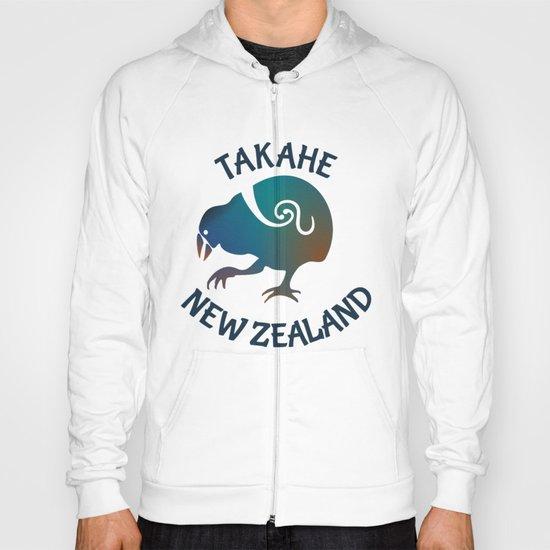 TAKAHE New Zealand Native bird Hoody