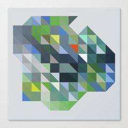 Triangulation 01 Canvas Print