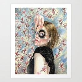 Beth's Lovers Eye Art Print