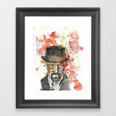 Walter White from Breaking Bad Framed Art Print