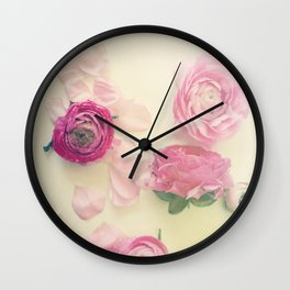 She Scattered Love Everywhere Wall Clock