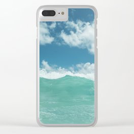 Hawaii Water VI Clear iPhone Case