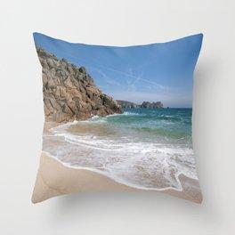 Sunny Beach II Throw Pillow