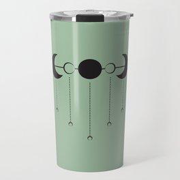 Moon Droplets Travel Mug