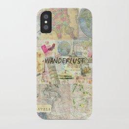 Wanderlust iPhone Case