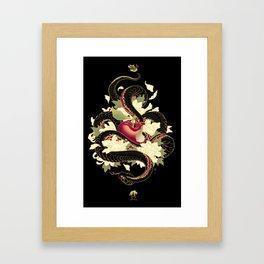 PURO VENENO Framed Art Print