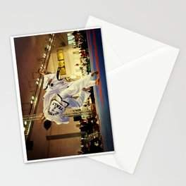 Traditional sparring - Taekwon-do ITF Stationery Cards