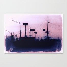 Minutia Island Canvas Print